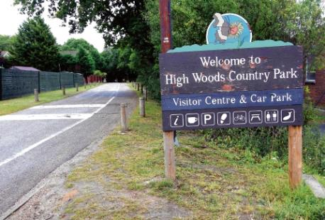 Highwoods Country Park