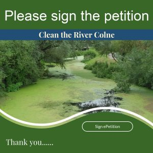 Please help to make a difference by signing the petition to clean the river Colne